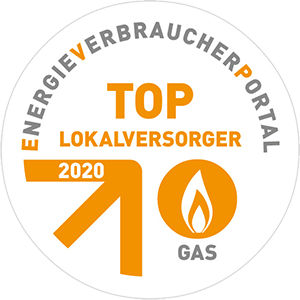 TOP-Lokalversorger Gas 2020